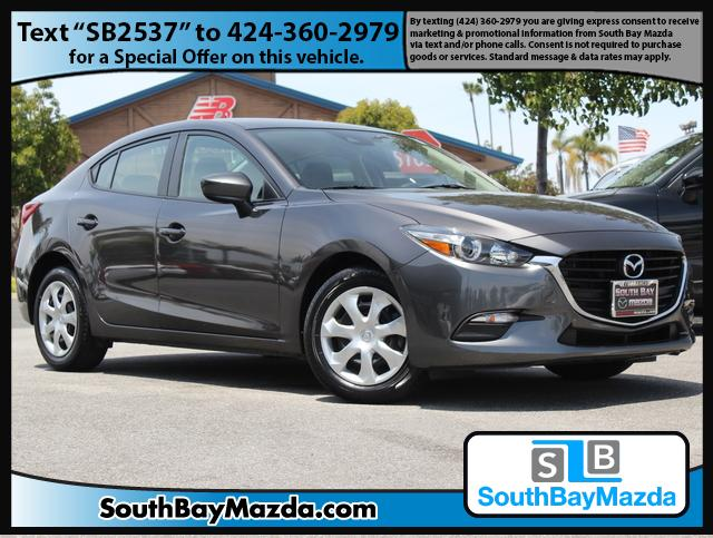 Certified Pre-Owned 2018 Mazda3 4-Door Sport Auto