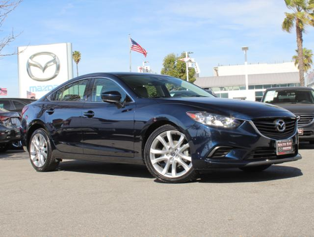 Certified Pre-Owned 2017 MAZDA Mazda6 Touring Auto