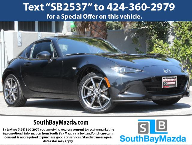 New 2018 Mazda MX-5 Miata RF Grand Touring Auto