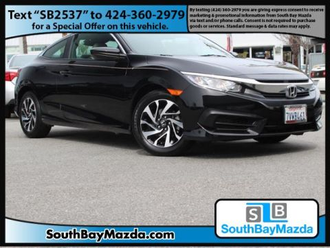 Pre-Owned 2016 Honda Civic Coupe 2dr CVT LX