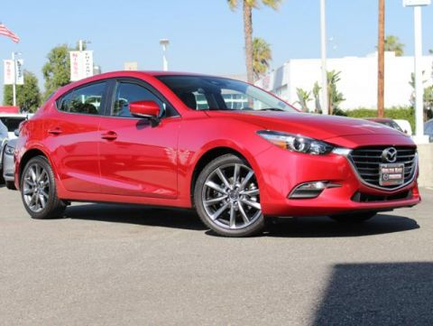 Certified Pre-Owned 2018 MAZDA MAZDA3 5-Door Touring Auto