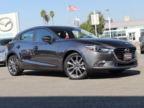 Certified Pre-Owned 2018 MAZDA MAZDA3 5-Door Grand Touring Auto