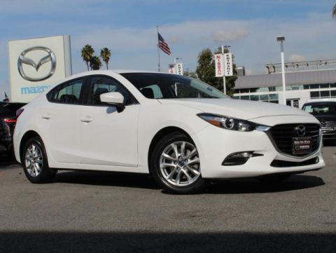Certified Pre-Owned 2017 MAZDA MAZDA3 4-Door Sport Auto