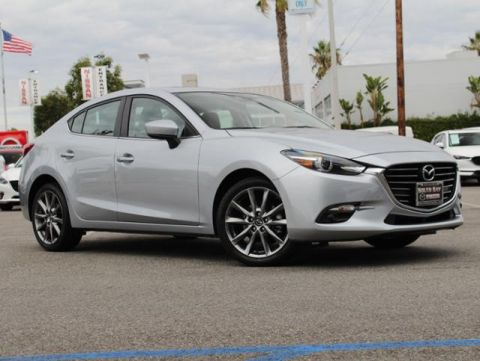 Pre-Owned 2018 MAZDA MAZDA3 4-Door Grand Touring Auto