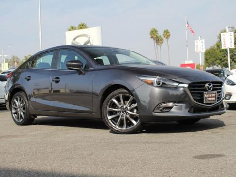Certified Pre-Owned 2018 MAZDA MAZDA3 4-Door Grand Touring Auto
