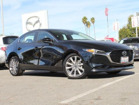 Certified Pre-Owned 2019 MAZDA MAZDA3 Sedan FWD w/Select Pkg