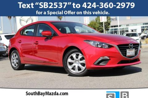 Certified Pre-Owned 2016 Mazda3 5dr HB Auto i Sport