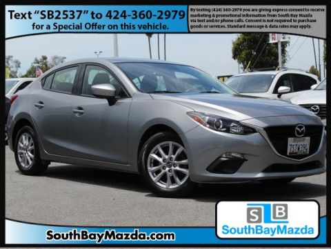 Certified Pre-Owned 2016 Mazda3 4dr Sdn Auto i Sport