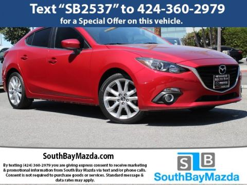 Certified Pre-Owned 2016 Mazda3 4dr Sdn Auto s Touring