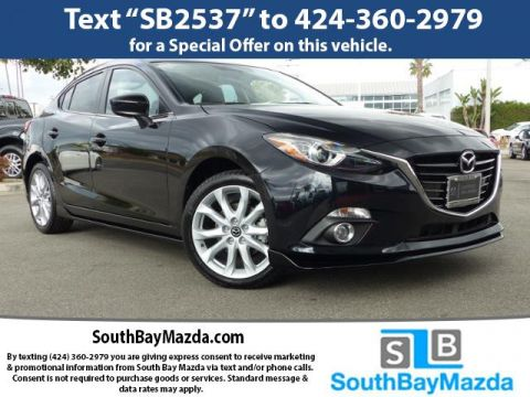 Pre-Owned 2016 Mazda3 4dr Sdn Auto s Grand Touring