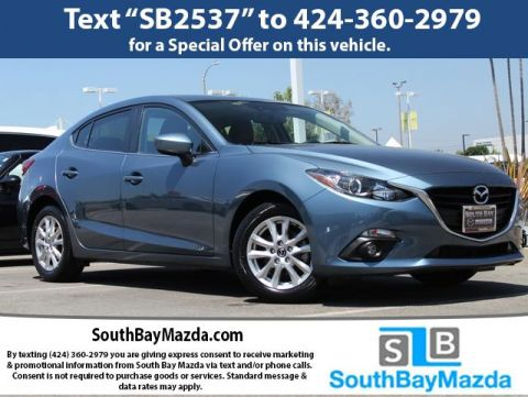 Certified Pre-Owned 2016 Mazda3 4dr Sdn Man i Grand Touring