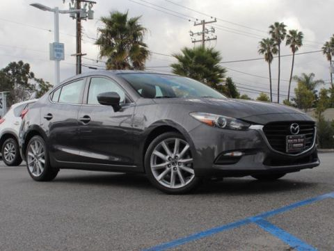 Certified Pre-Owned 2017 MAZDA MAZDA3 4-Door Touring Auto