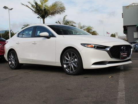 New 2020 MAZDA MAZDA3 Sedan FWD w/Select Pkg