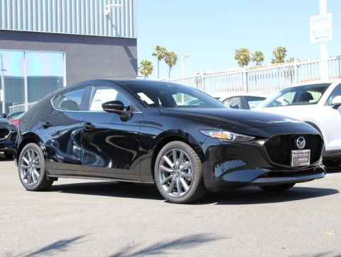 New 2019 MAZDA MAZDA3 Hatchback AWD Auto w/Preferred Pkg