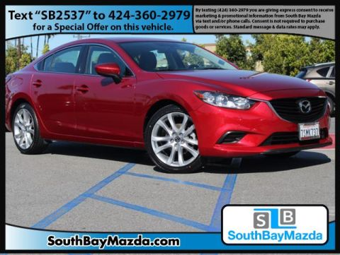 Certified Pre-Owned 2016 Mazda6 4dr Sdn Auto i Touring