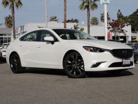 Certified Pre-Owned 2016 MAZDA Mazda6 4dr Sdn Auto i Grand Touring