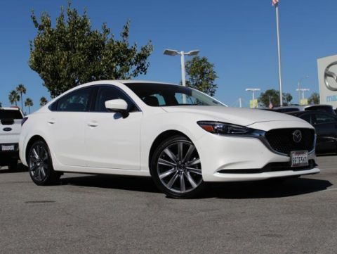 Certified Pre-Owned 2018 MAZDA Mazda6 Touring Auto