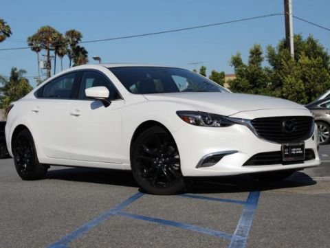 Certified Pre-Owned 2017 MAZDA Mazda6 Grand Touring Auto