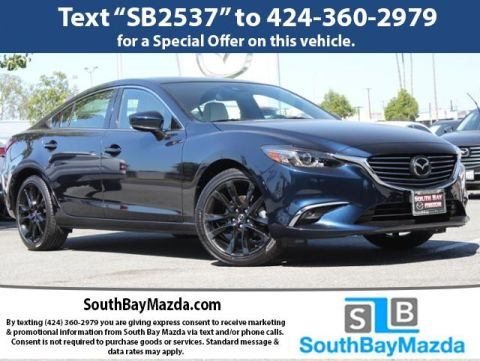 Certified Pre-Owned 2017 Mazda6 Grand Touring Auto
