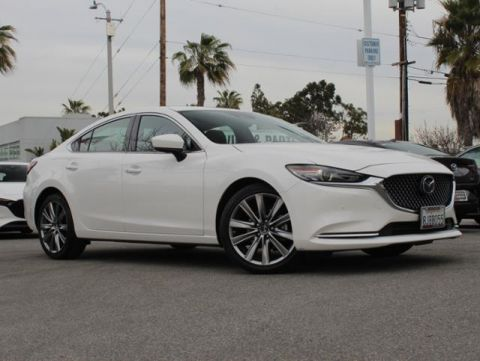 Certified Pre-Owned 2018 MAZDA Mazda6 Signature Auto