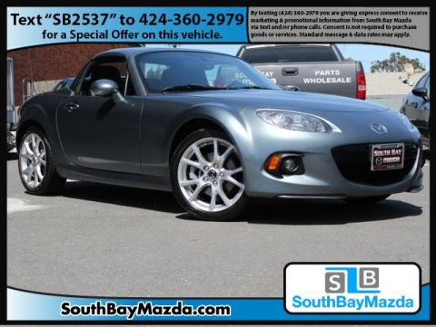 Certified Pre-Owned 2013 Mazda MX-5 Miata 2dr Conv Hard Top Auto Grand Touring