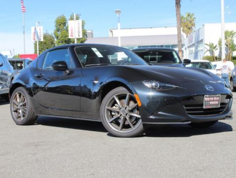 Certified Pre-Owned 2018 MAZDA MX-5 Miata RF Grand Touring Auto