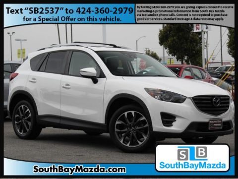 Certified Pre-Owned 2016 Mazda CX-5 AWD 4dr Auto Grand Touring
